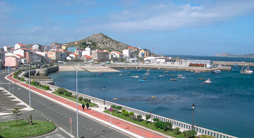 Muxia seafront promenade